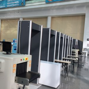 Metal Detectors & Baggage Scan