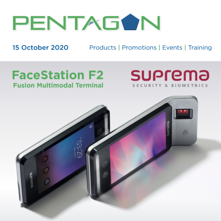 Suprema FaceStation F2 Contactless Security Solution